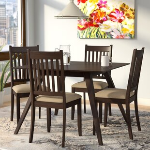 Roman 5 Piece Dining Set by Latitude Run
