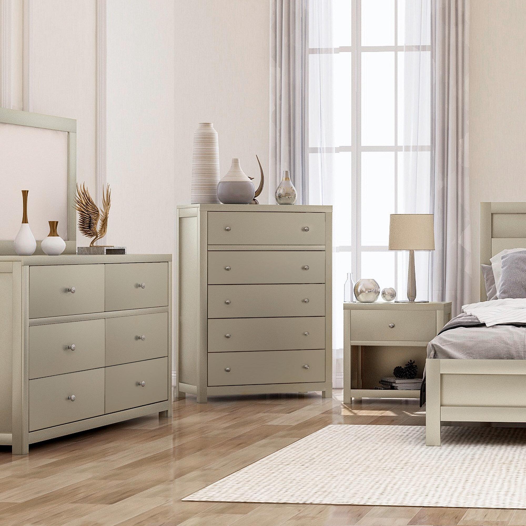 Three Posts Oren Solid Wood 3 Piece Configurable Dresser Set Wayfair