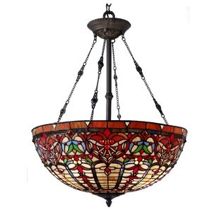 Sari 3-Light Bowl Pendant by Astoria Grand