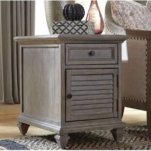 Affordable Altenburg End Table with Storage by Greyleigh