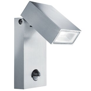 Apollo 1 Head LED Outdoor Spotlight With Motion Sensor By Sol 72 Outdoor