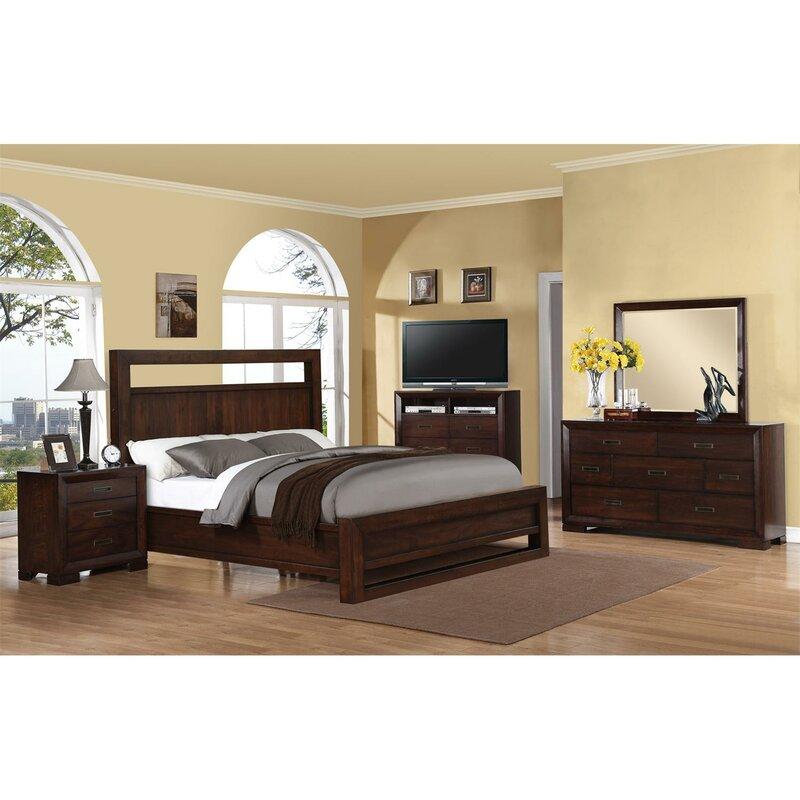Loon Peak Lancaster Panel Customizable Bedroom Set Reviews