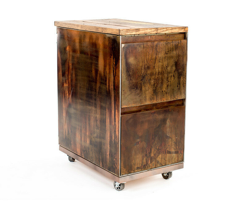 Reclaimed Vintage Double Ball bearing Cabinet Catch