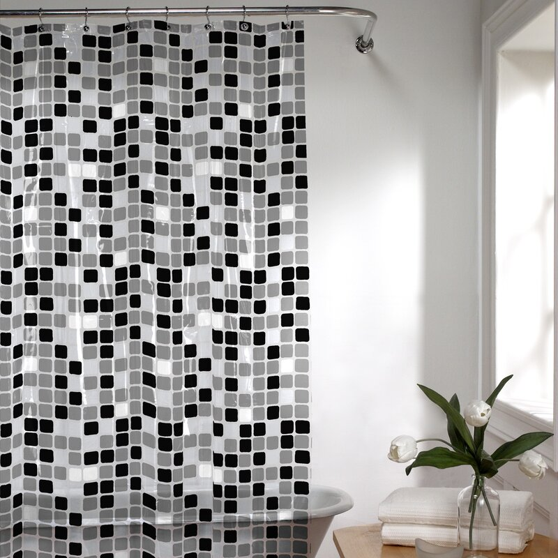 Roumfort Vinyl Shower Curtain