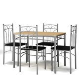 Amariss 5 - Piece Bar Height Dining Set by Red Barrel Studio®