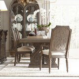 Pagedale 5 Piece Drop Leaf Dining Set by Charlton Home®