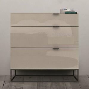 Vizzione 3 Drawer Dresser by Casabianca Furniture