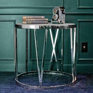 Roman End Table by Nuevo