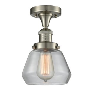 Argueta 1-Light Semi Flush Mount by Williston Forge