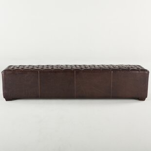 Myres Faux Leather Bench