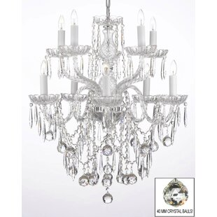House of Hampton Ketterer 10-Light Candle Style Chandelier