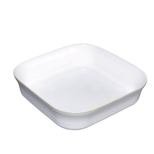 Natural Canvas Square Oven Dish