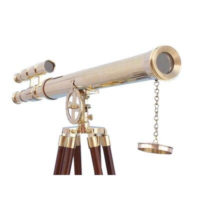 Floor Standing Griffith Astro Decorative Telescope Handcrafted Nautical Decor