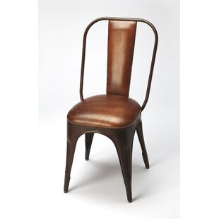Comparison Corto Genuine Leather Upholstered Dining Chair by Trent Austin Design Reviews (2019) & Buyer's Guide