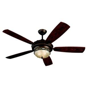 Reviews 56 Edwardian 5 Blade LED Ceiling Fan By Monte Carlo Fan Company