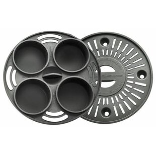 2 Piece Microwave Grill Baking and Steaming Silicone Insert Set