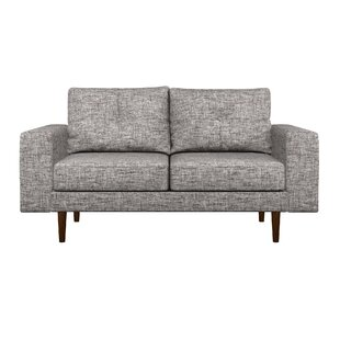 Binns Oxford Weave Loveseat by Corrigan S..
