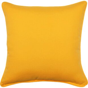 Yellow And Gold Outdoor Pillows