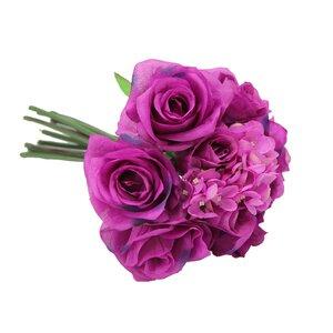 12 Stems Artificial Rose Bouquet