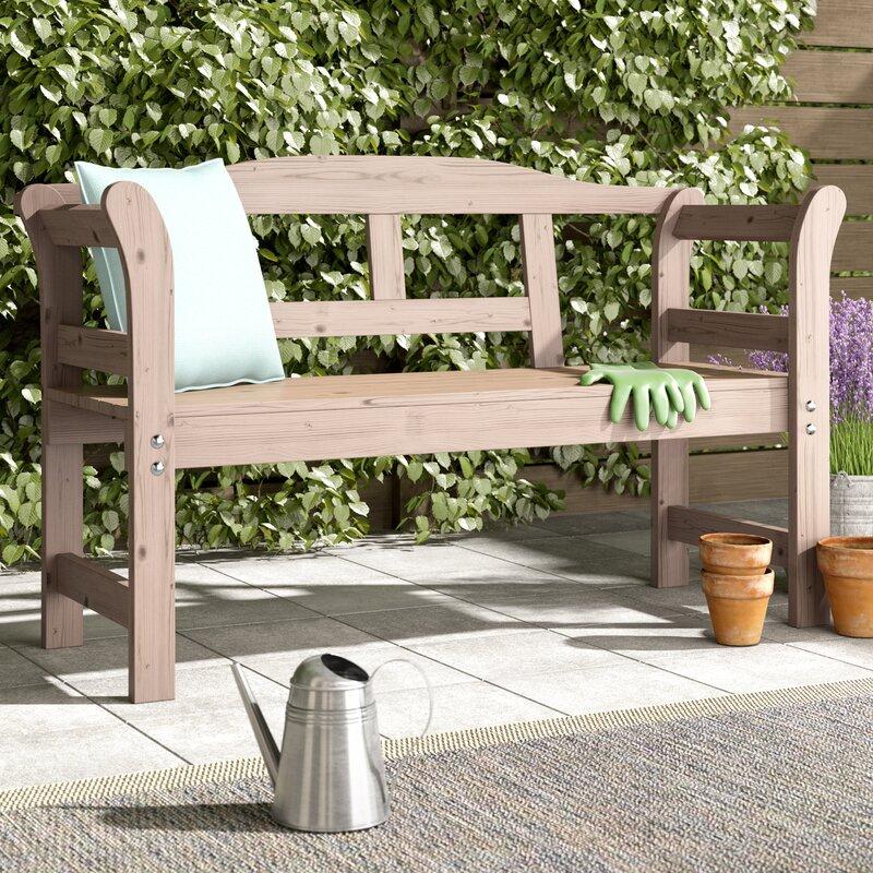 Einfach Gartenbank Holz Rustikal Galerie Von Wohndesign Dekoration