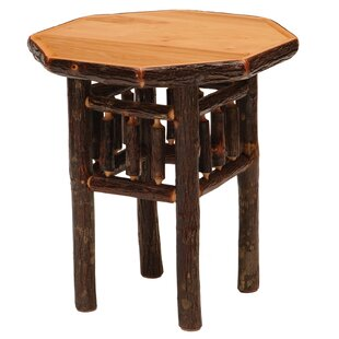 Hickory End Table by Fireside Lodge