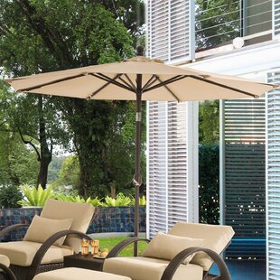 Bardfield 9' Lighted Umbrella by Darby Home Co