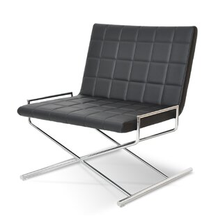 sohoConcept Chelsea X Sled Lounge Chair