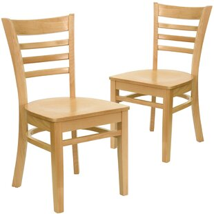 Chafin Solid Wood Dining Chair (Set of 2)..