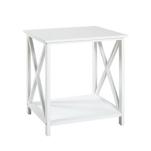 Aly Side Table With Storage By August Grove