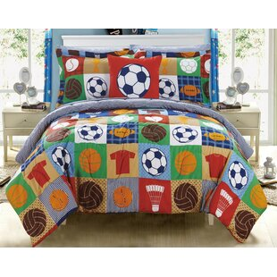 Dowell Reversible Comforter Set by Zoomie Kids Design