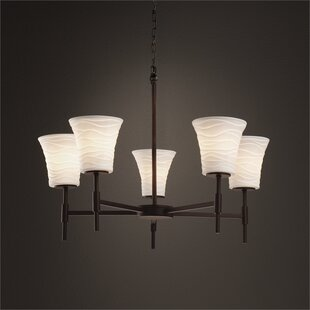 Darrien 5-Light Shaded Chandelier by Brayden Studio