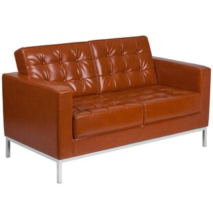 Pyron Leather Loveseat by Latitude Run