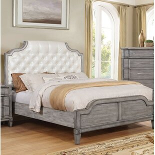 Whittingham Upholstered Panel Bed by Ophelia & Co.