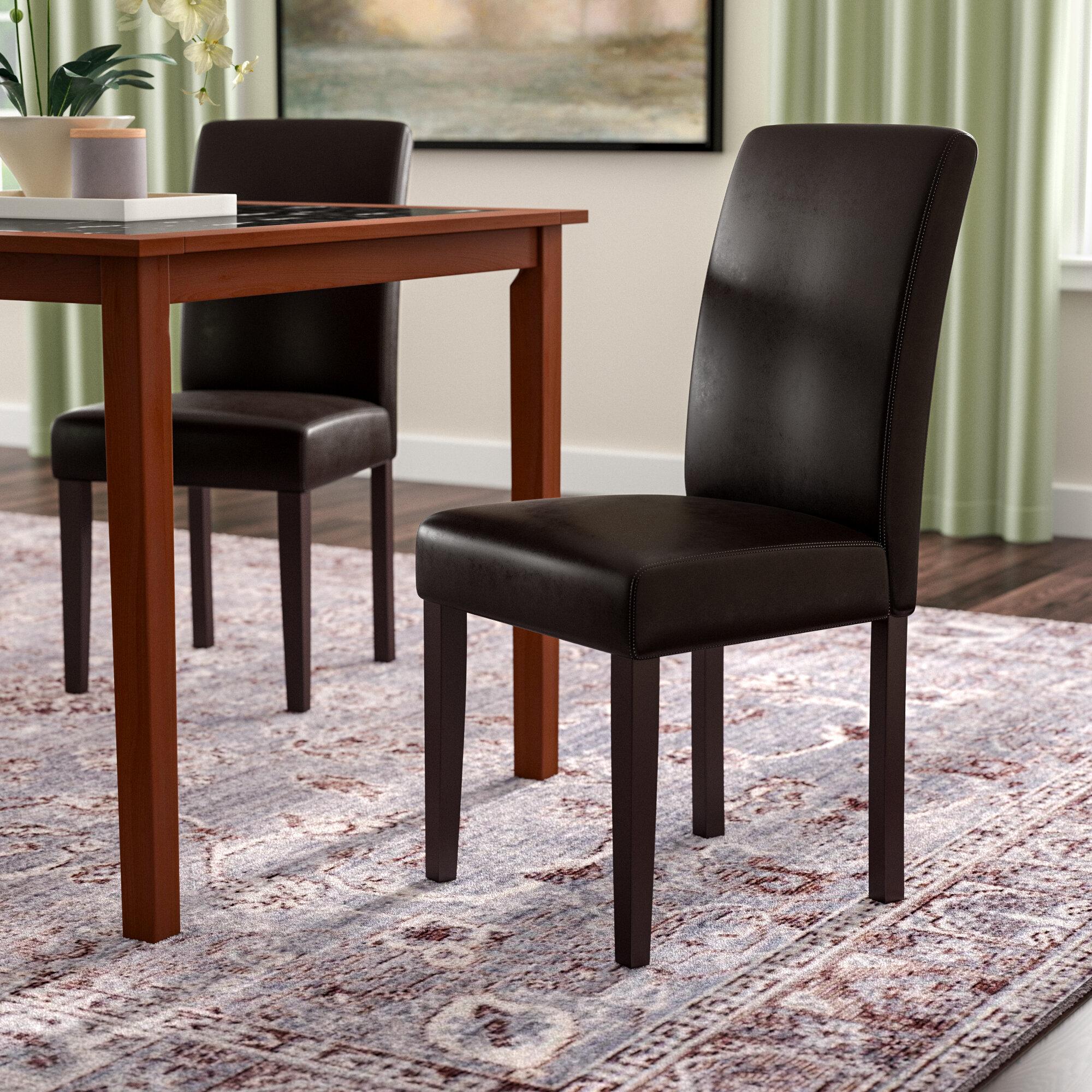 Winston Porter Donnellson Upholstered Dining Chair Reviews Wayfair