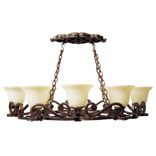 Fleur De Lis Living Whipkey 8-Light Shaded Chandelier