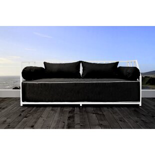 Brayden Studio Snydertown Patio Daybed with Cushions