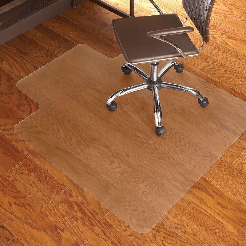 Rectangle Chair Mat Wood Hard Floor Home Office Computer Desk Chairmat Protector Home Garden Rugs Carpets
