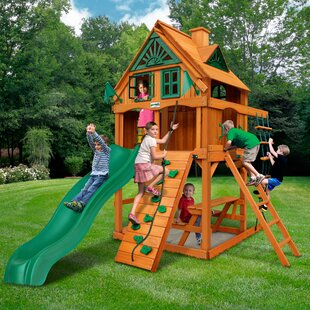 Gorilla Playsets Chateau Tower Treehouse Playset