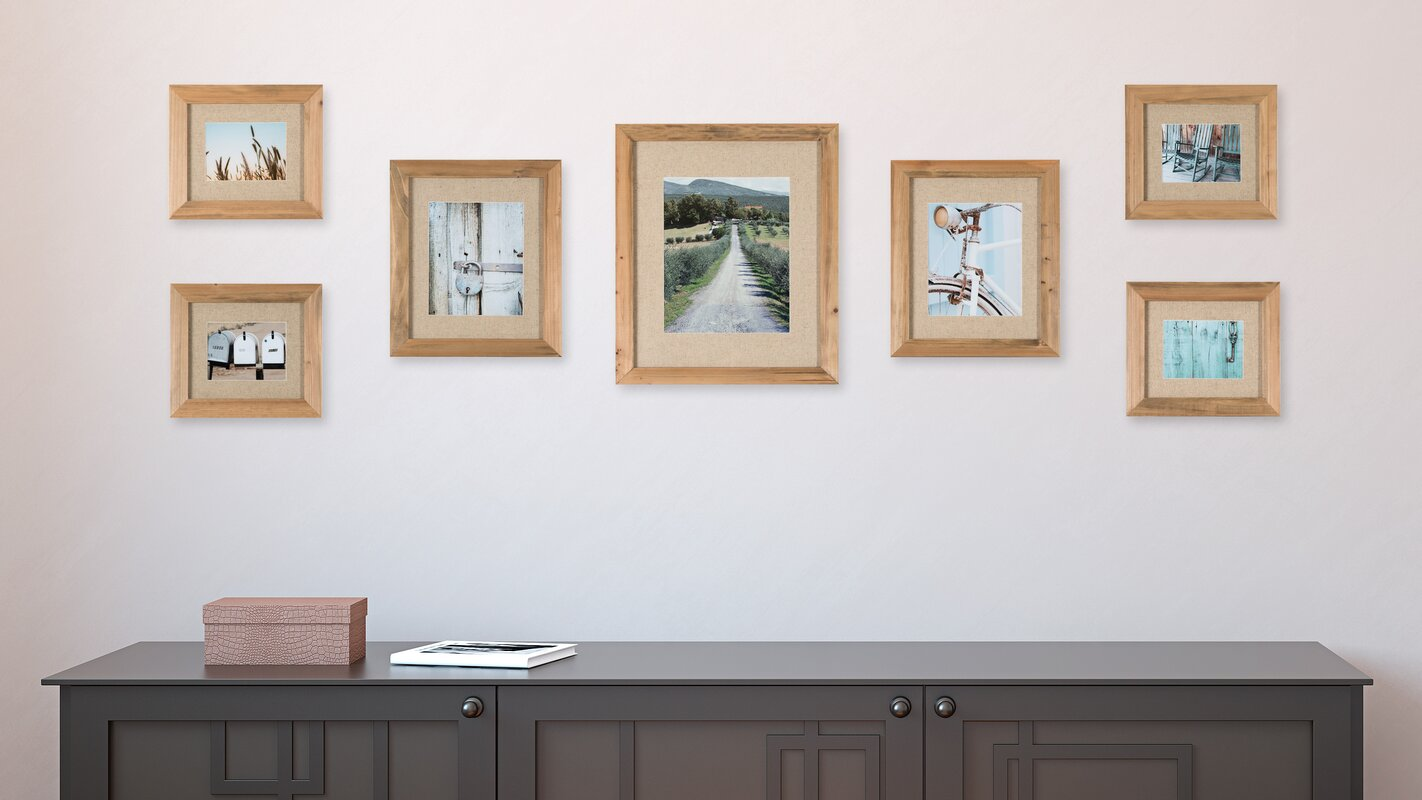 Loon peak sharleen 7 piece gallery picture frame set reviews sharleen 7 piece gallery picture frame set jeuxipadfo Gallery