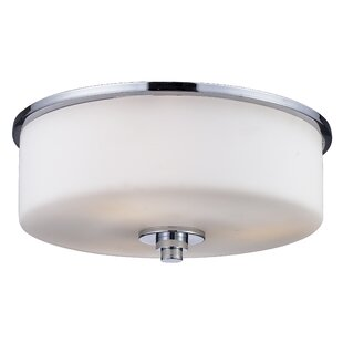 Orren Ellis Jorden 2-Light Flush Mount