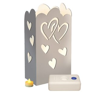 Luminarias Luma Lantern Heart Kit (Set of 24)