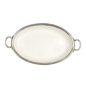 Tuscan Oval Serving Tray