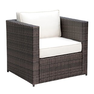 Lesher Patio Chair with Cushions