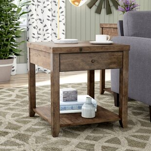 Low priced Ellport End Table By Gracie Oaks