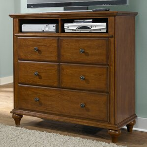 Kangley 5 Drawer Media Chest by Darby Home Co
