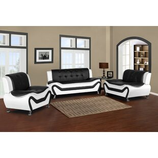Lizbeth 3 Piece Living Room Set by Orren Ellis