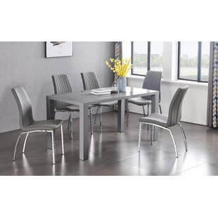 Free S&H Thinh Dining Set With 6 Chairs