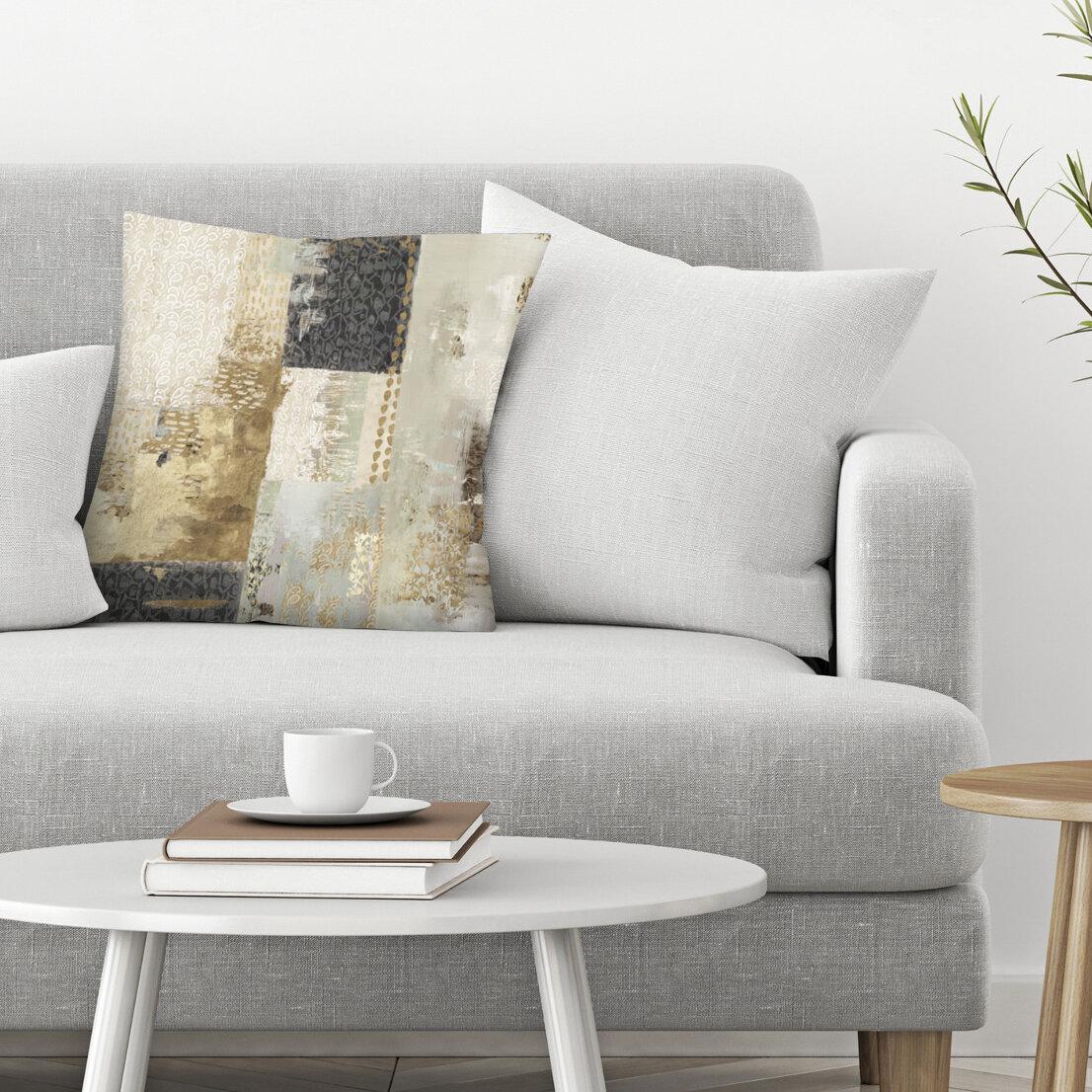 East Urban Home Bare I Throw Pillow Reviews Wayfair