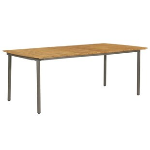 Jelissa Wooden Dining Table By Sol 72 Outdoor