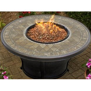 TK Classics Balmoral Aluminum Propane Fire Pit Table